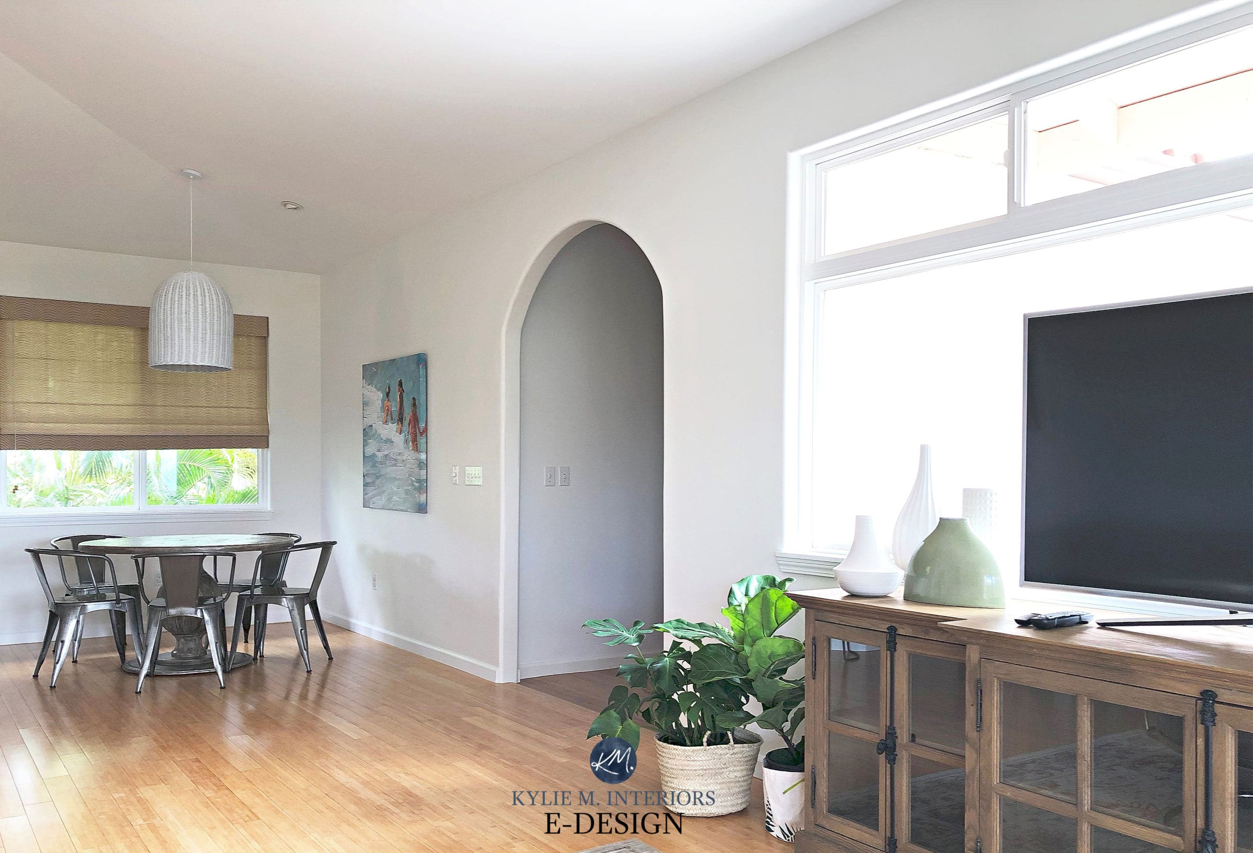 Sherwin Williams Pure White paint colour review, Kylie M ...