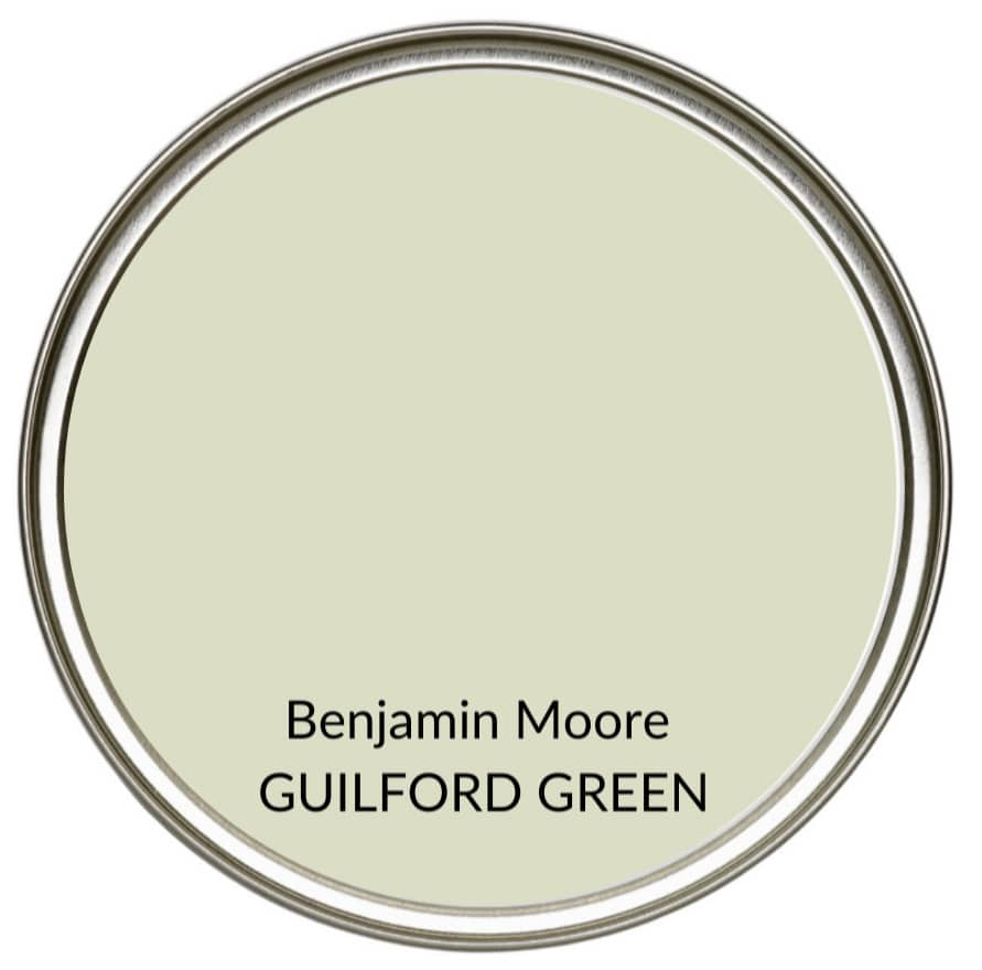 Best farmhouse country green paint colour, Benjamin Moore Guilford Green. Kylie M Interiors, Edesign, online color consulting and advice blogger (1)