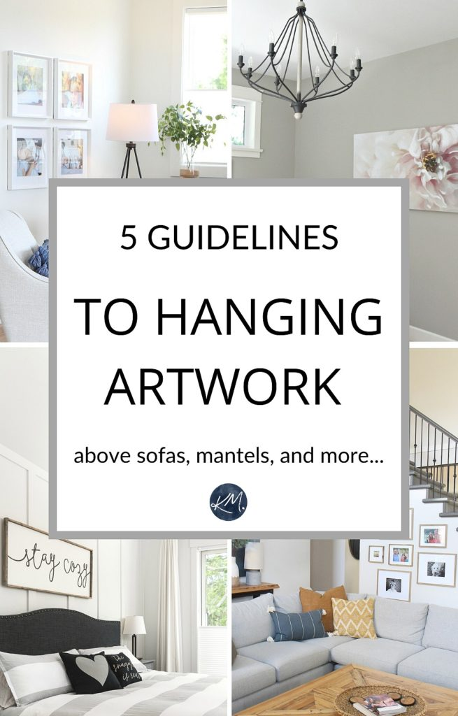 The Right Height To Hang Artwork And Mirrors Tips And Ideas