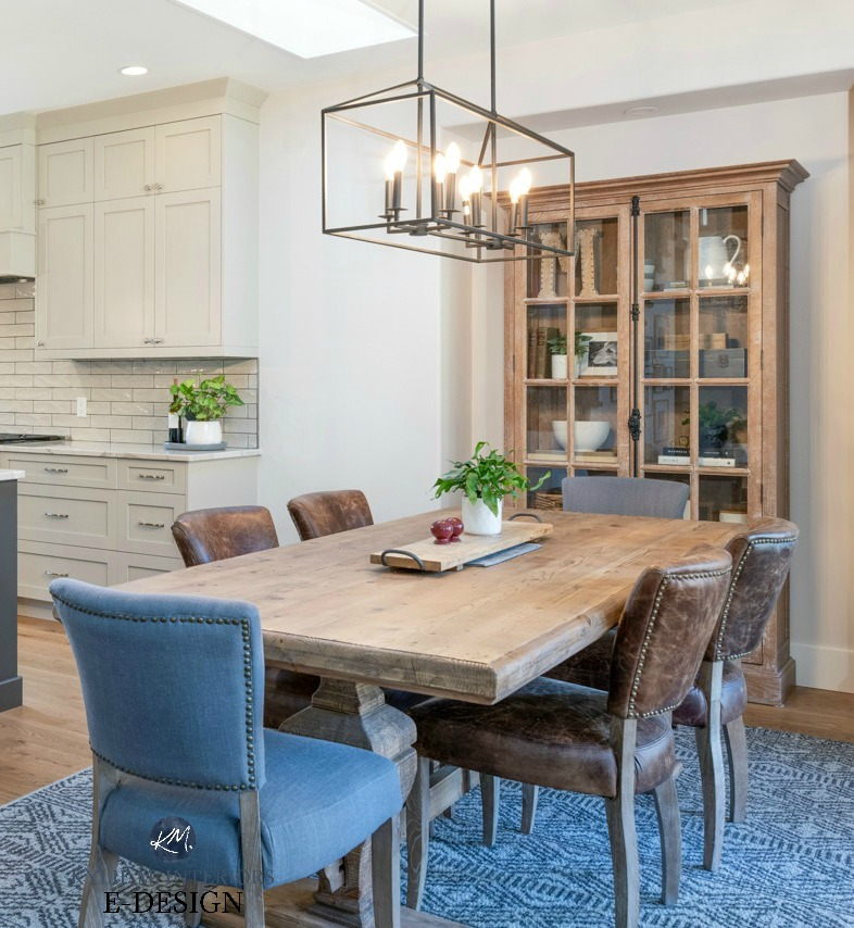 Our Open Layout Kitchen And Dining Room Makeover Before After Photos Kylie M Interiors