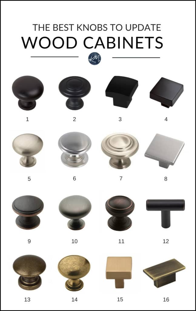 The Best Knobs for Wood Cabinets. Wayfair. Kylie M Interiors E-design, E-décor, online paint colour advice