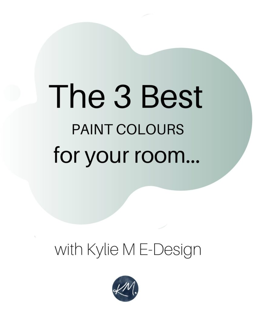 The 3 best blue green paint colours for your room. Benjamin or Sherwin. Kylie M Interiors Edesign, online paint color consulting and diy home decor ideas blogger.market