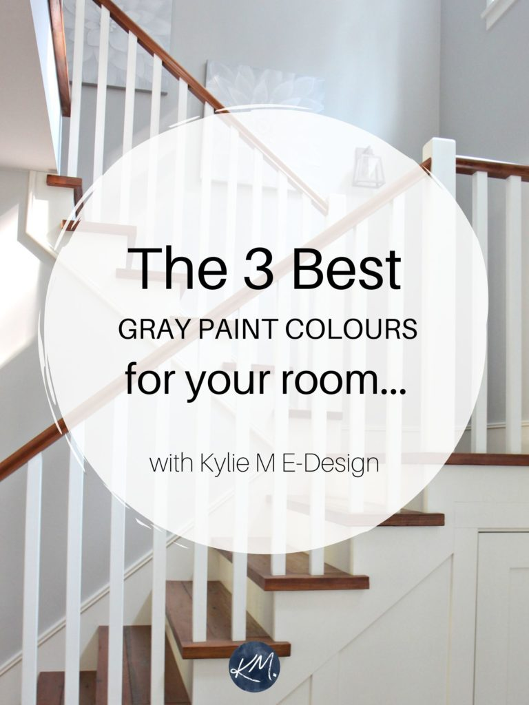 The best gray paint colors for your room. Benjamin and Sherwin. Edesign, Kylie M Interiors online paint colour services. Home decorating and diy ideas blogger.market