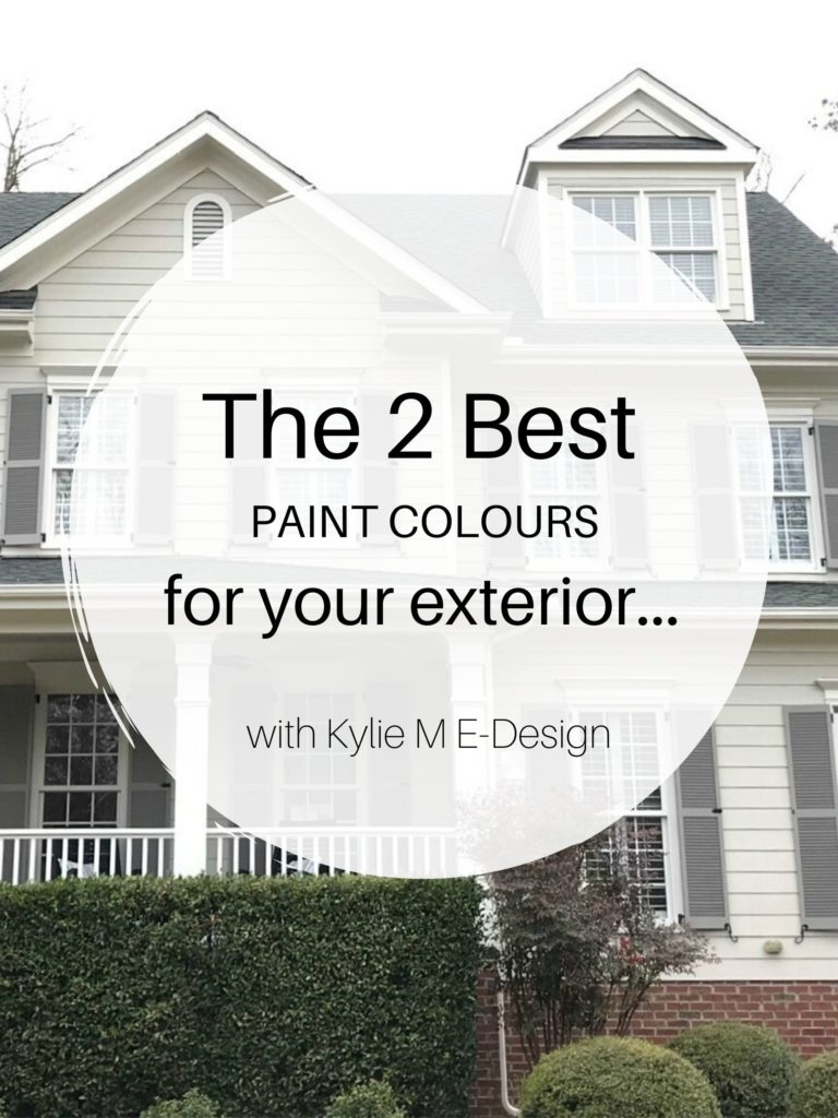 The best paint colors for exterior with brick, stone, siding, hardi. Benjamin or Sherwin. Edesign, online paint colour consulting. Diy home decorating ideas blogger.market
