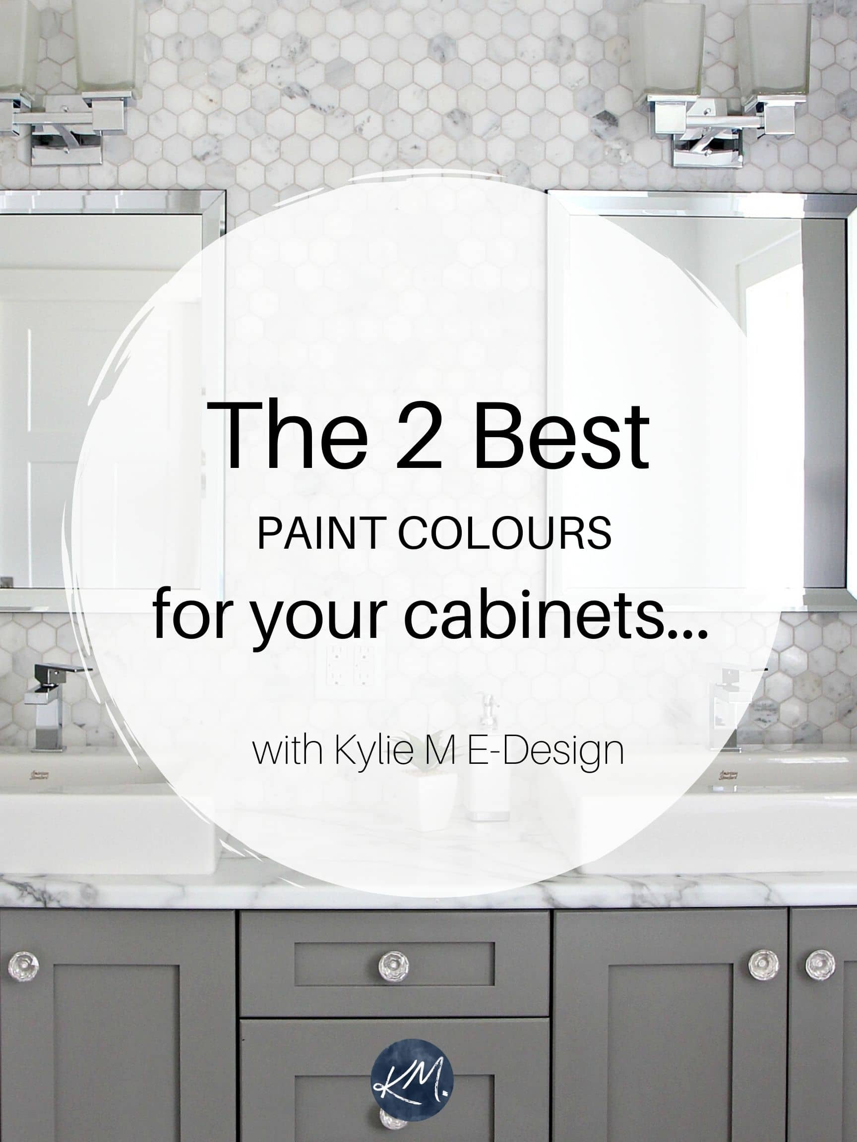 Best Gray For Kitchen Cabinets The best white and gray paint colors for kitchen cabinets or