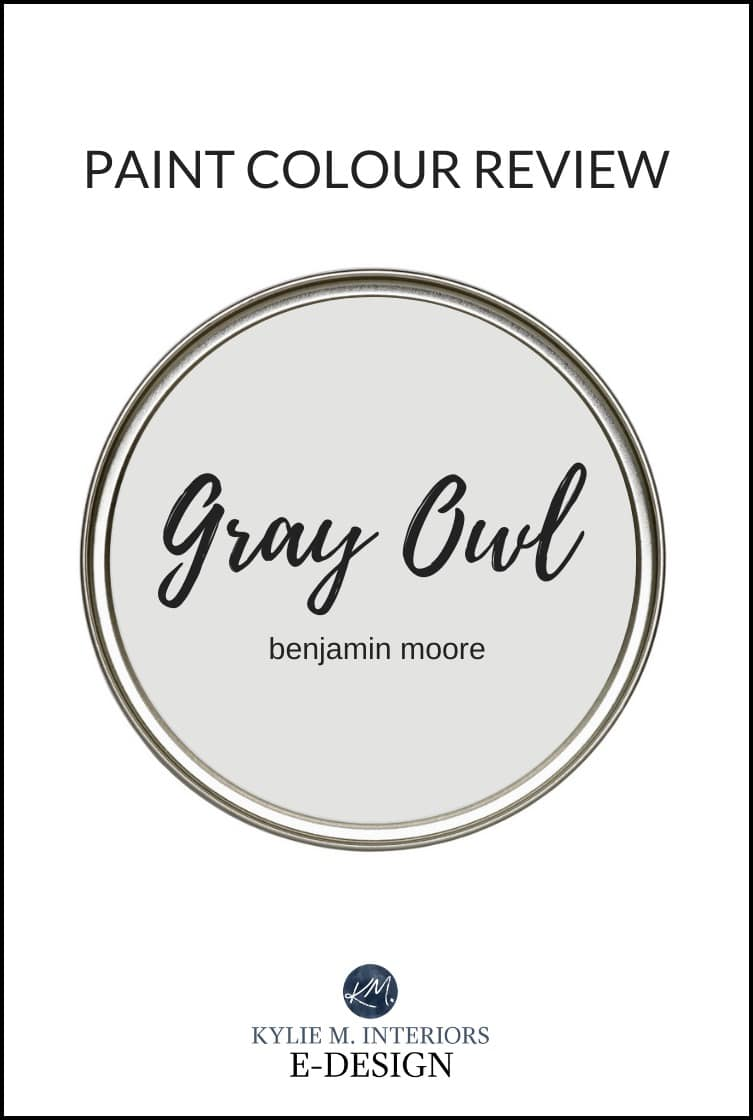Paint Colour Review Benjamin Moore Gray Owl Oc 52 Kylie M Interiors