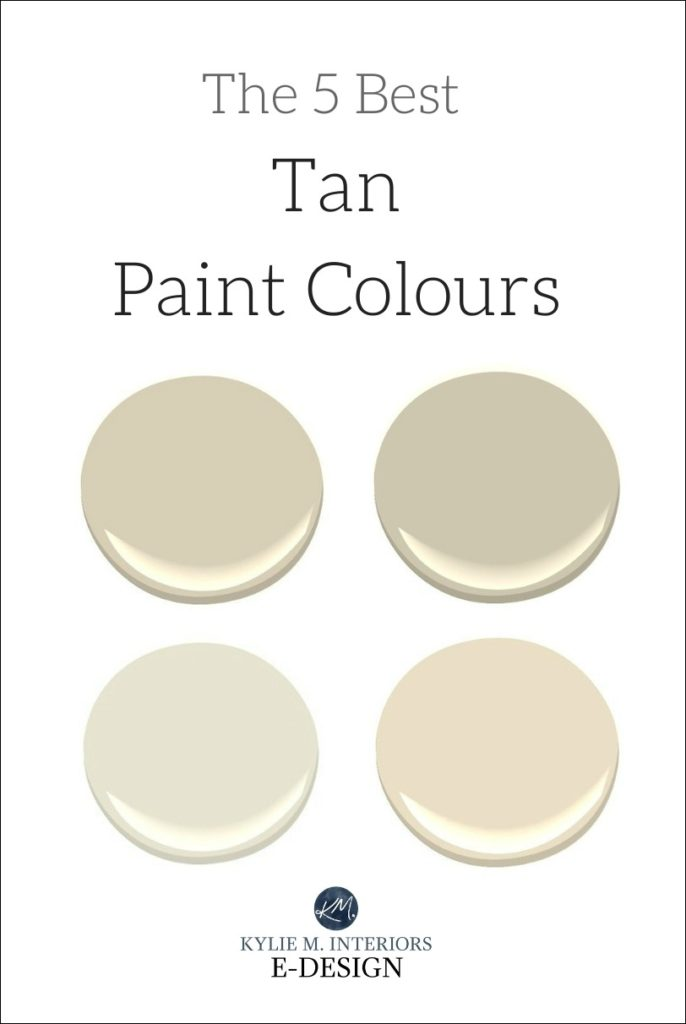 The 5 Best Tan Neutral Paint Colours Sherwin Williams And Benjamin Moore