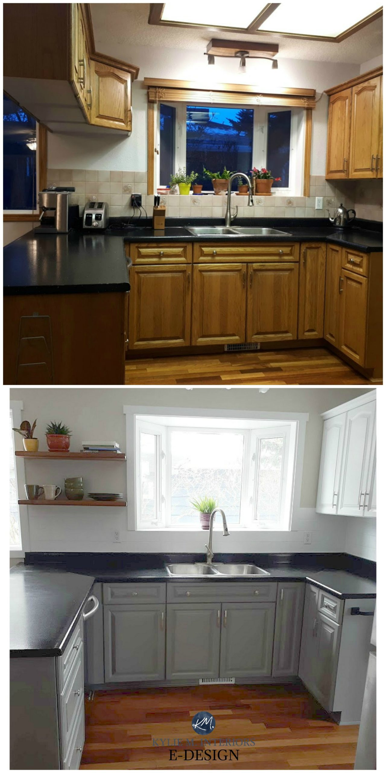 Before and after, budget friendly kitchen update ideas ...