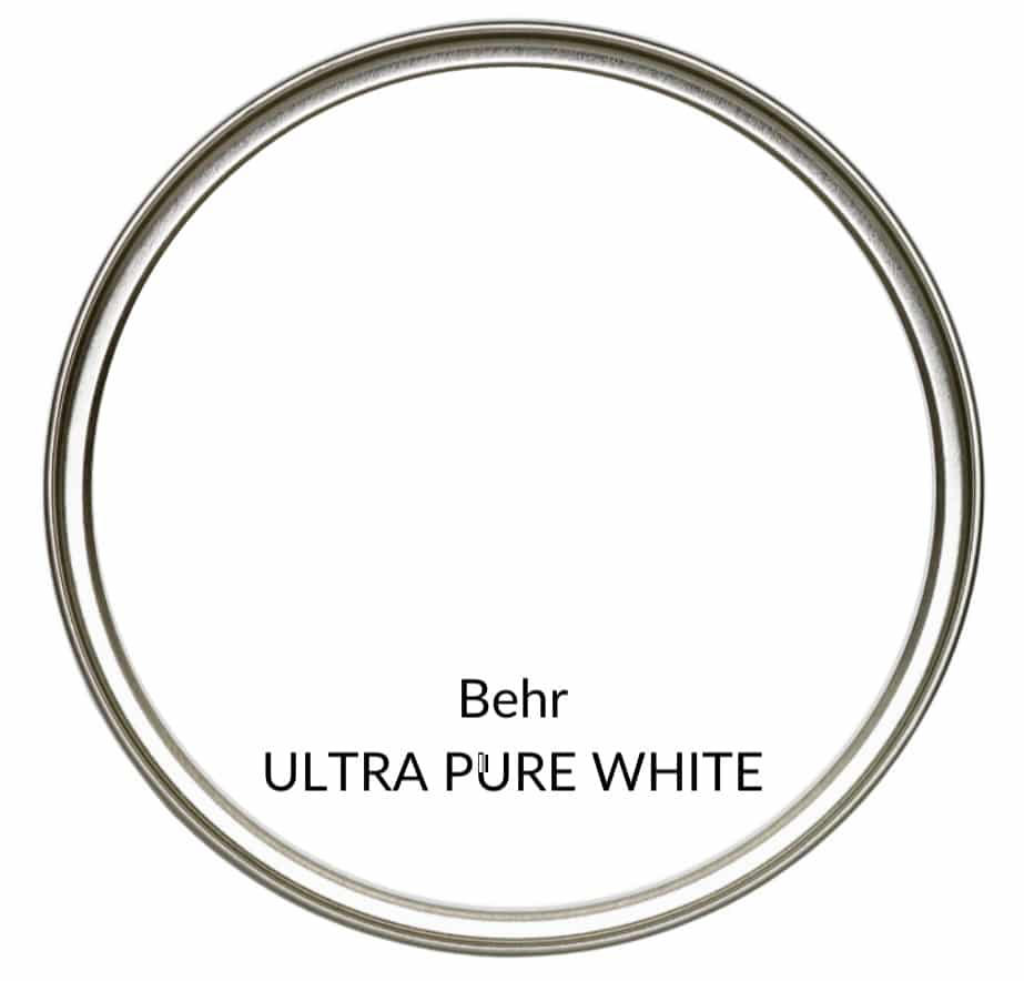 Behr' best popular white paint colours, Ultra Pure White. Kylie M Interiors Edesign, online color consulting