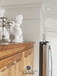 Benjamin Moore Classic Gray, Sherwin Agreeable Gray, best grey paint colours. Kylie M Interiors edesign, romantic style kitchen