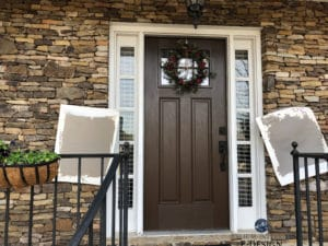 How to pick the best exterior paint colours with stone, brick, roof and windows. Kylie M Interiors Edesign, online paint colour consulting and advice blogger