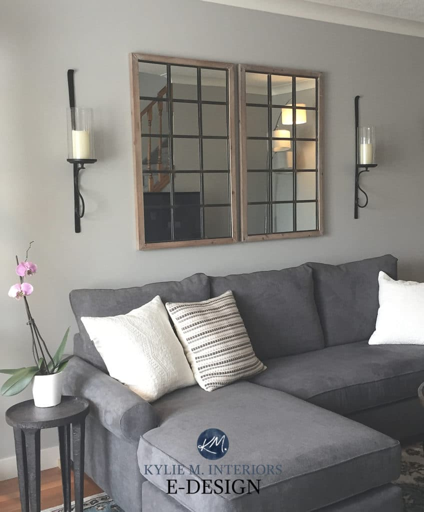 Best gray paint colour, Sherwin Williams Silverplate. Kylie M Interiors Edesign, online paint color expert, diy decorating and design ideas blogger (2)