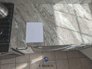 How to pick a new countertop that coordinates with beige tile