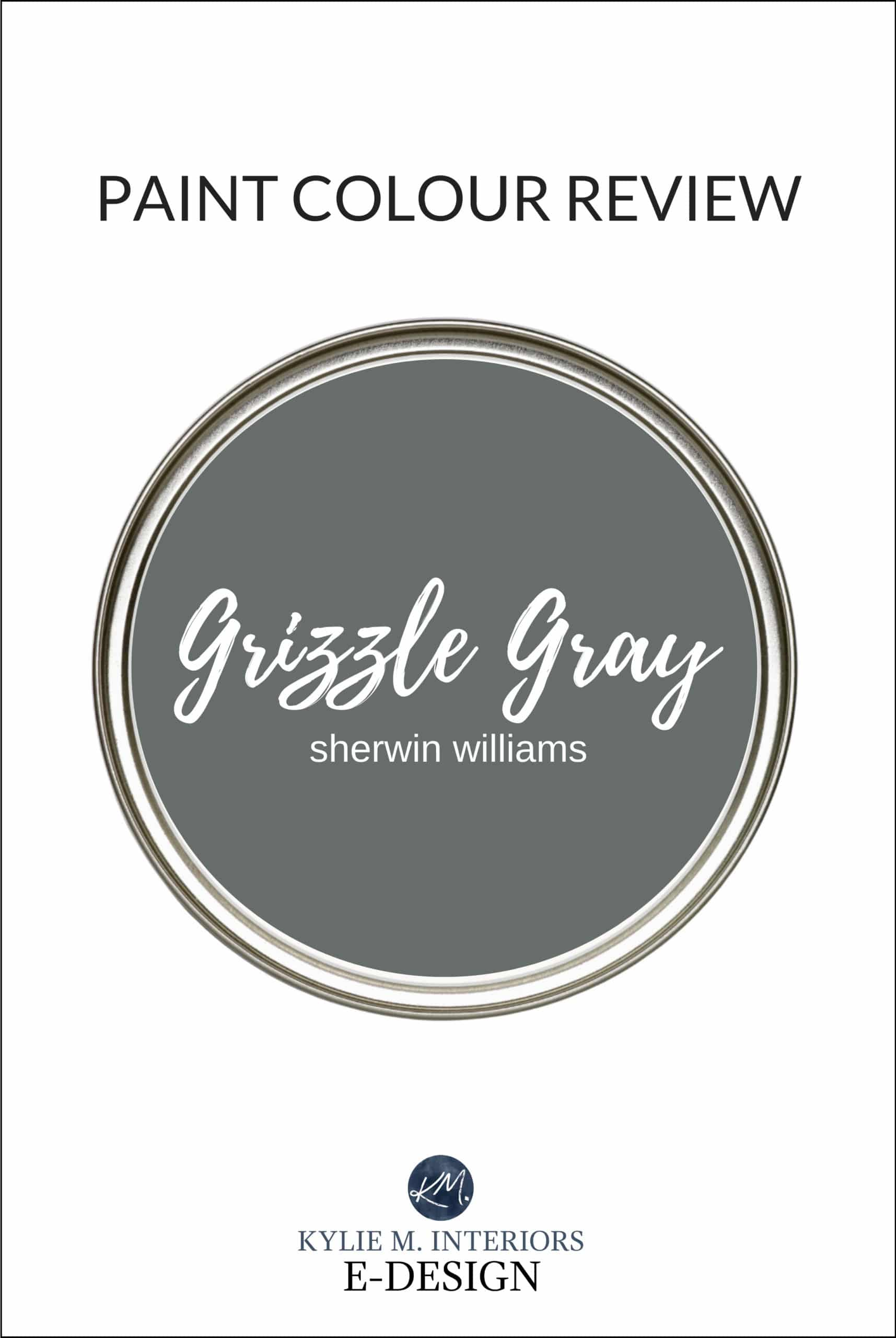 QUICK Paint Colour Review Sherwin Williams Grizzle Gray SW 20 ...