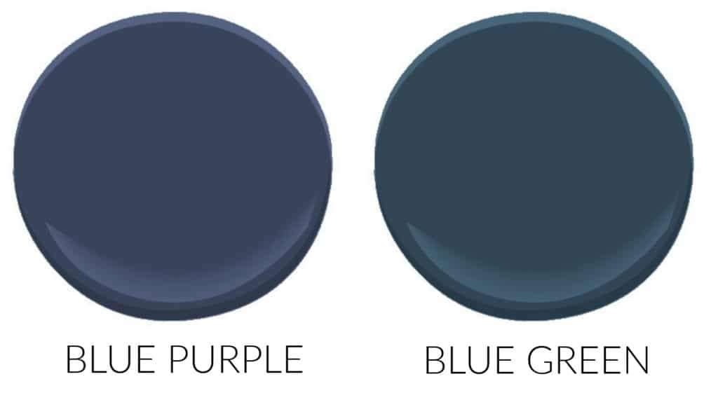 How to pick the best navy blue paint colour for kitchen cabinets, island, vanity, front door (3)