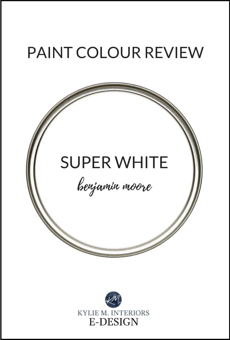 Paint Colour Review Benjamin Moore Super White Oc 152 Pm 1 Kylie M Interiors