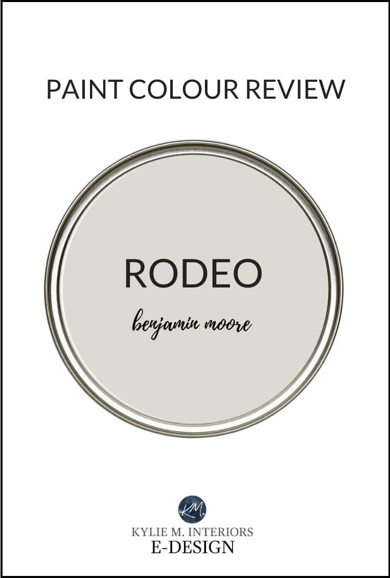Benjamin Moore Rodeo paint color review, similar to REvere Pewter. Kylie M Interiors Edesign, diy blogger, design (1)