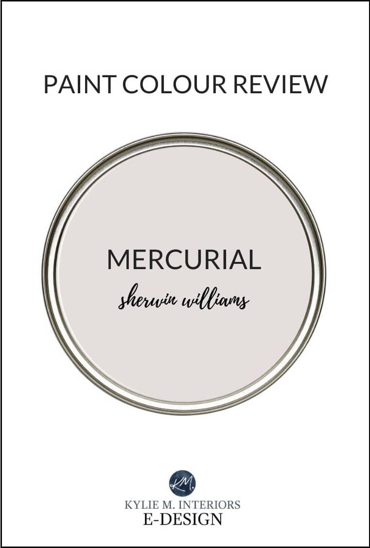 Sherwin Williams Mercurial, paint colour review, Designer Edition. Kylie M Interiors Edesign, online paint colour consultant