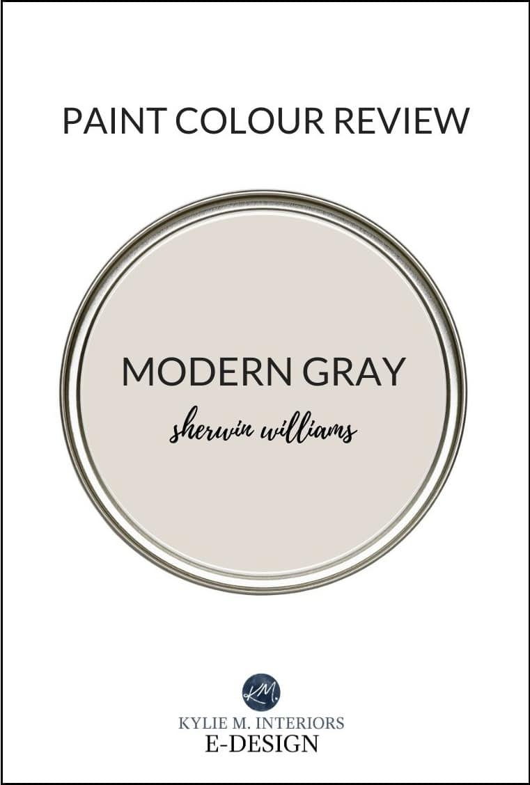 Paint Colour Review Sherwin Williams Modern Gray SW 20   Kylie ...