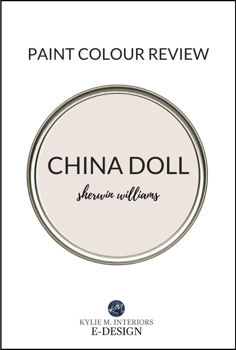 Paint colour review, best neutral Sherwin Williams China Doll. Kylie M Interiors, online paint colour consulting. (1)