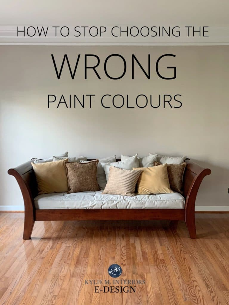 how to choose the best paint colors for your room or home. Kylie M Interiors Edesign, online paint color consulting.
