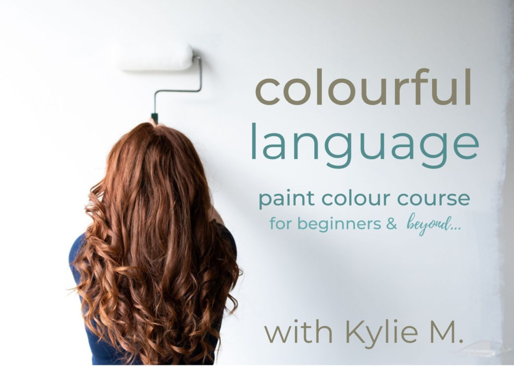 Online virtual paint colour consultant course. Kylie M Interiors using Benjamin Moore and Sherwin Williams paint colors. Certificate (1)